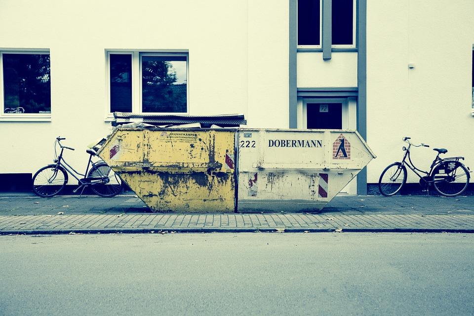 Afvalcontainer huren: geen zorgen voor je bedrijf
